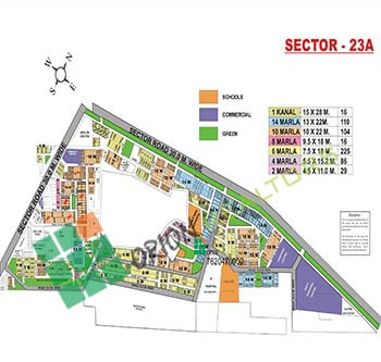 Sector 23A