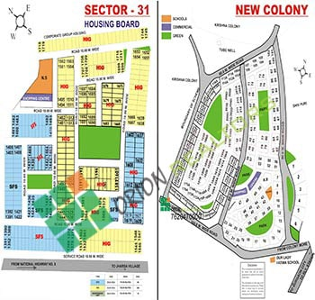 Sector 31 New Colony Housing Board