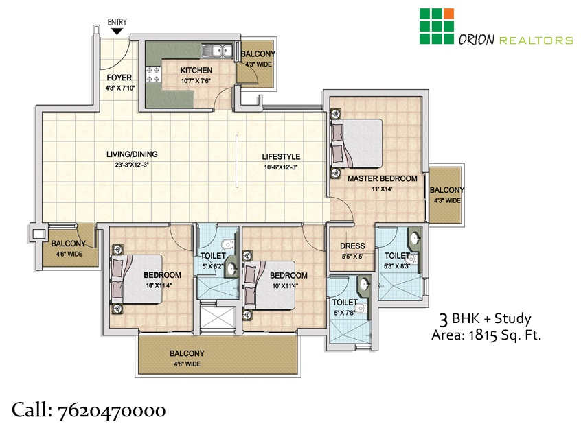 BPTP Park Generation Floor Plan