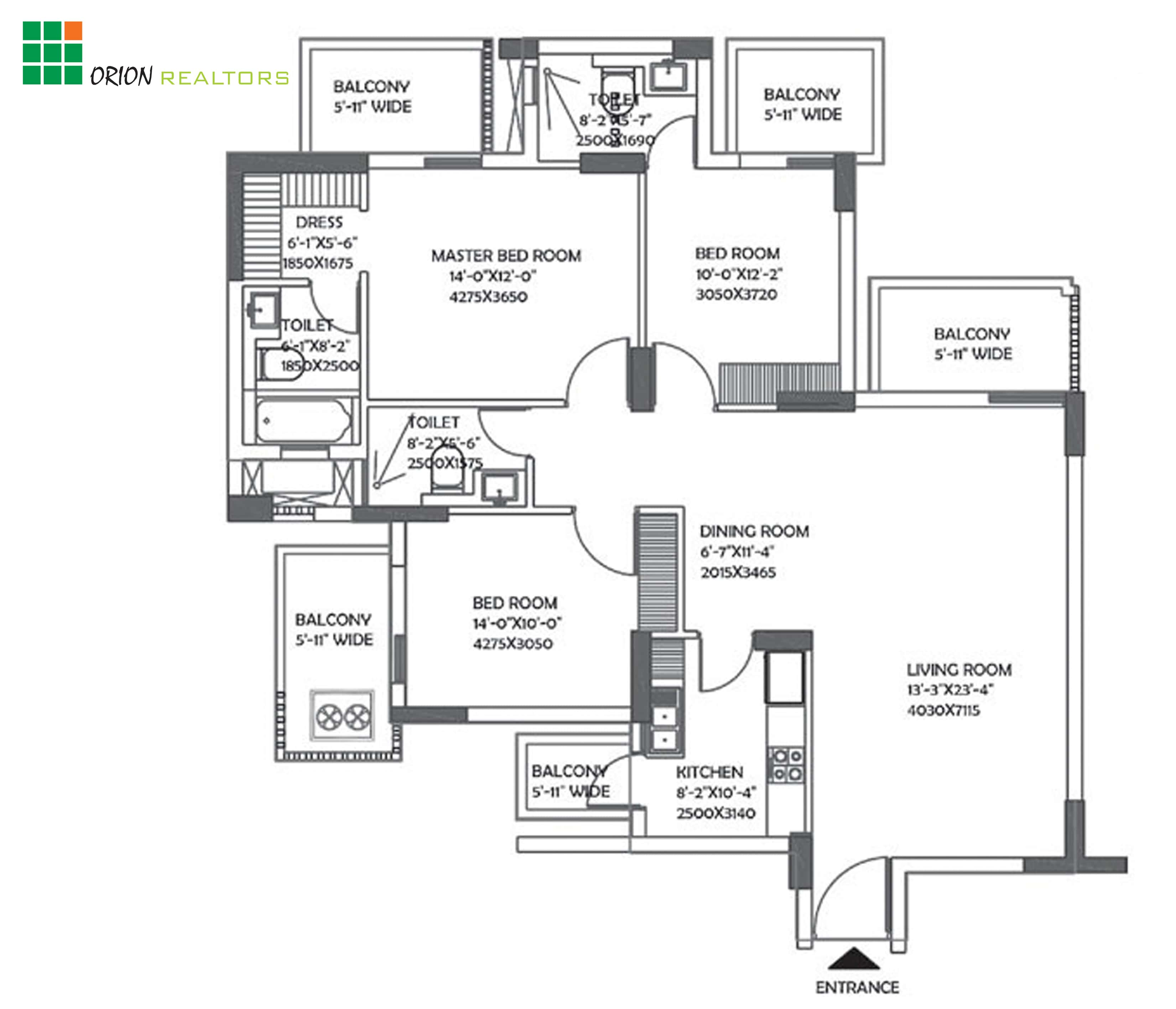 DLF The Ultima Floor Plan