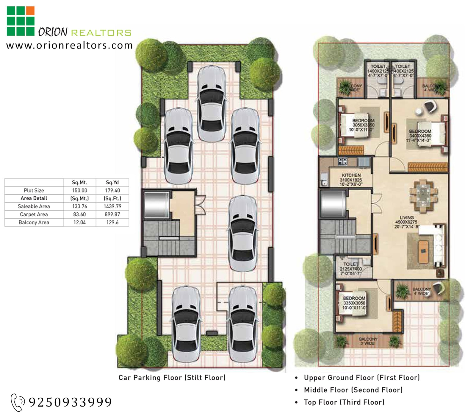 Signature Global Park Sector 36 Floor Plan
