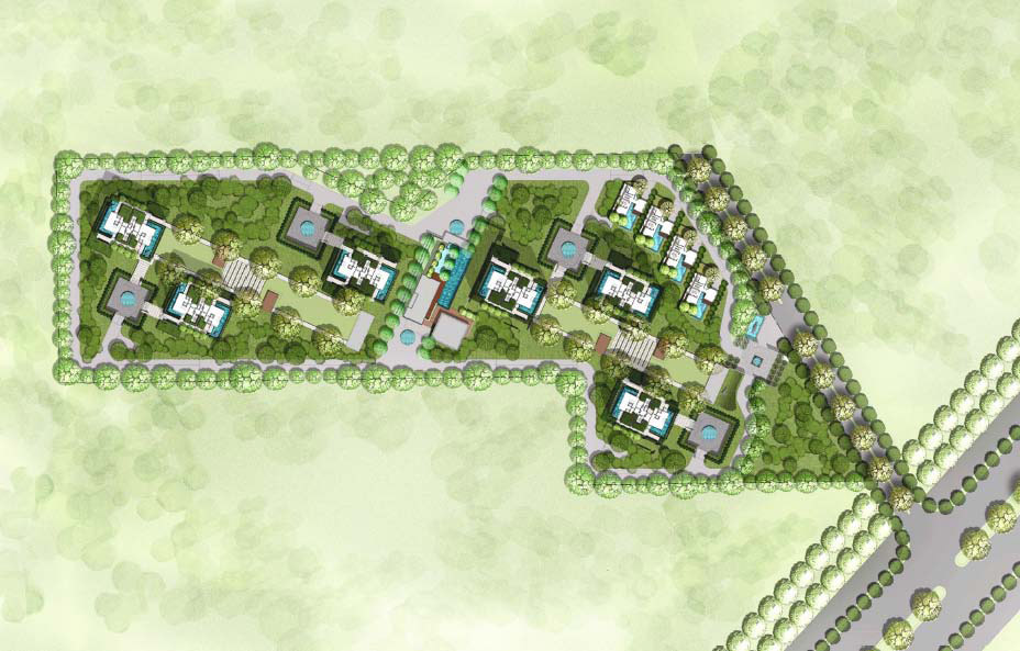 Ireo Gurgaon Hills Site Plan
