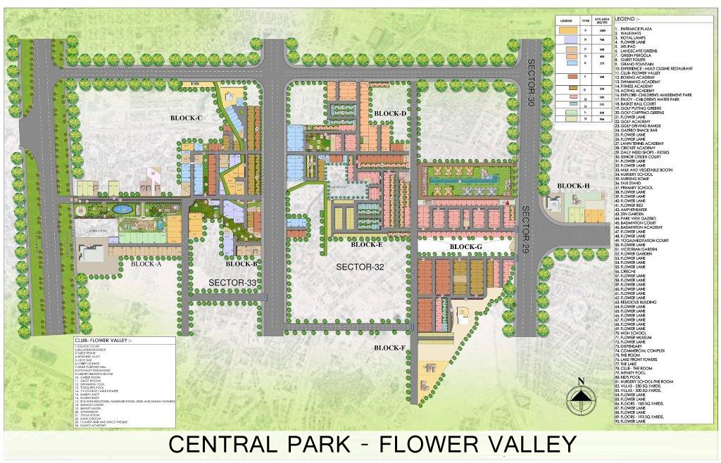 lakefront tower site plan